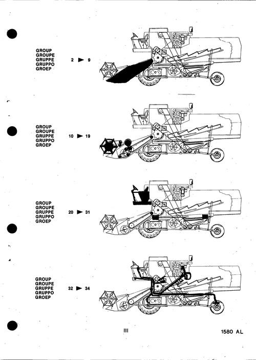 New Holland 8070-8080 Service Parts Catalog Combine PDF