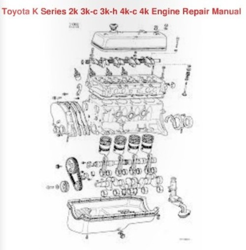 Toyota 4k engine repair manual