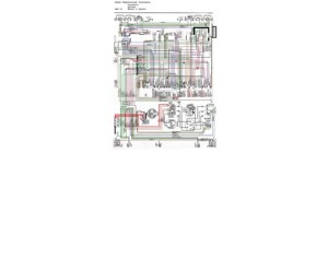 19601964 Chevrolet Corvair Color Wiring Diagram