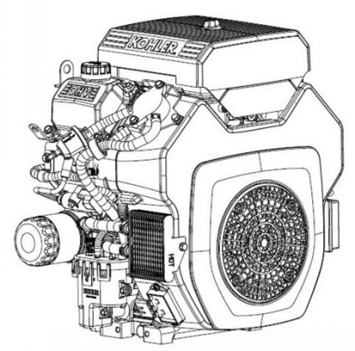 Kohler Command PRO ECH630-ECH680 ECH730-ECH749 CH26 CH735