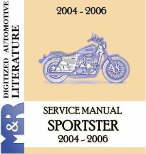 20042006 Harley Davidson Sportster ServiceShop Manual  Download