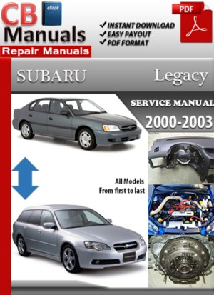 SUBARU Manual – Page 3 – Best Repair Manual Download