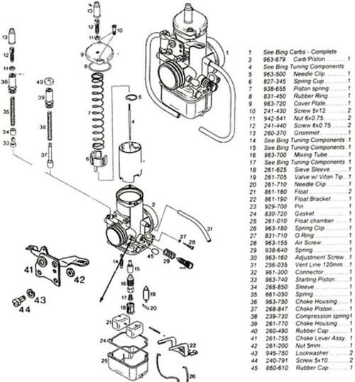Mercury kiekhaefer vintage carburator service repair