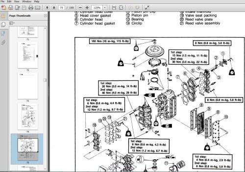 small resolution of yamaha 40 hp manual schematic wiring diagrams yamaha 50 4 stroke