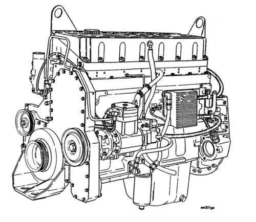CUMMINS M11 SERIES ENGINES SERVICE REPAIR MANUAL DOWNLOAD