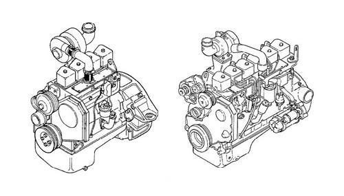 KOMATSU KDC 410 & 610 SERIES ENGINE SPECIFICATION MANUAL