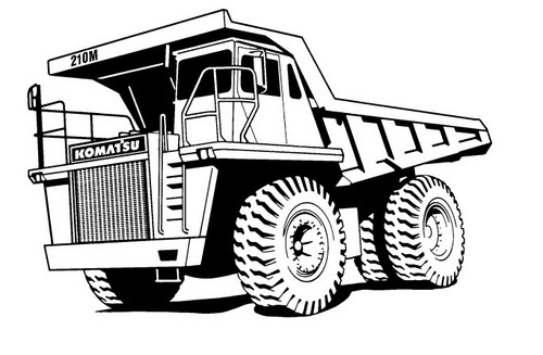 KOMATSU 210M DUMP TRUCK OPERATION & MAINTENANCE MANUAL