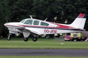 Beechcraft Bonanza 14 Volt Electrical WIRING DIAGRAM MANUAL  F33 F