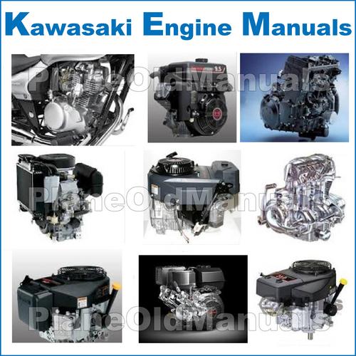 Kawasaki Fd440v Fd501v Fd590v Fd611v 4 Stroke Liquid