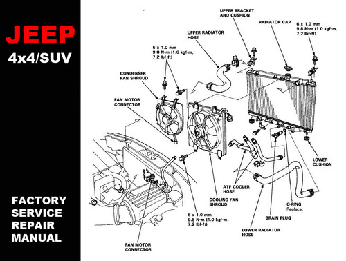 System Diagram Diagrams On 96 Jeep Cherokee Cooling System Diagram