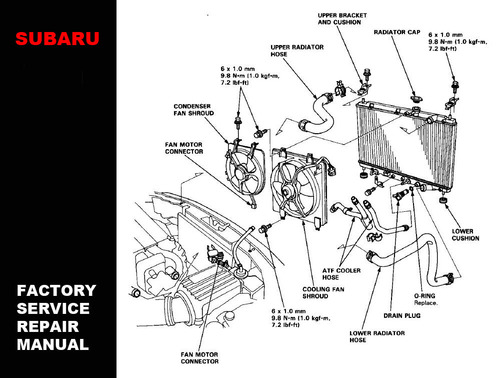 Subaru Engine Cooling System Subaru Circuit Diagrams