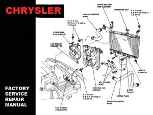 CHRYSLER TOWN & COUNTRY  VOYAGER 2001 2002 2003 2004 2005 2006 200