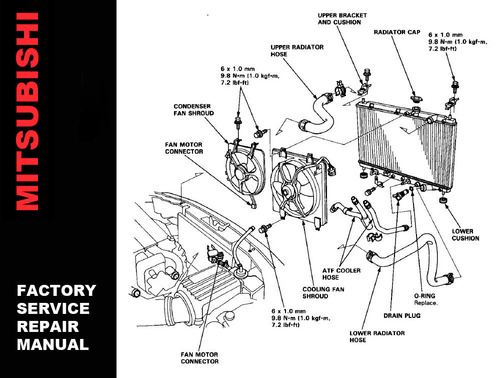 1998 ford ranger 4x4 wiring diagram for carrier central air conditioner mitsubishi lancer evolution 8 & mr 2003 2004 2005 body repair, tech...