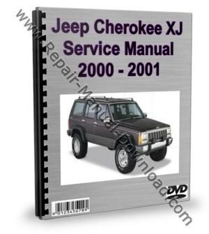 Jeep Cherokee XJ 2000  2001 Service Repair Manual