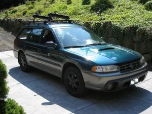 SUBARU LEGACY OUTBACK SERVICE REPAIR MANUAL 1993 1994 1995