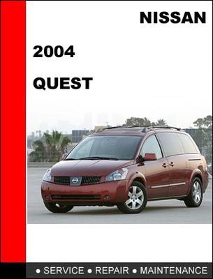 Nissan Quest 2004 Factory Workshop Service Repair Manual