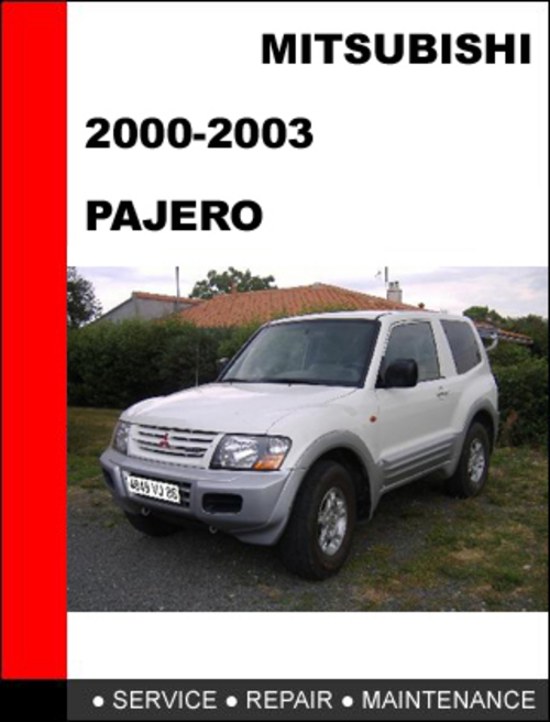 2000 Nm Pajero Workshop Manual