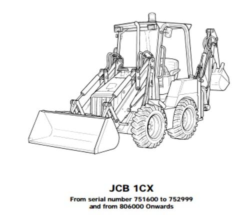 Jcb 8018 Operator Manual Pdf