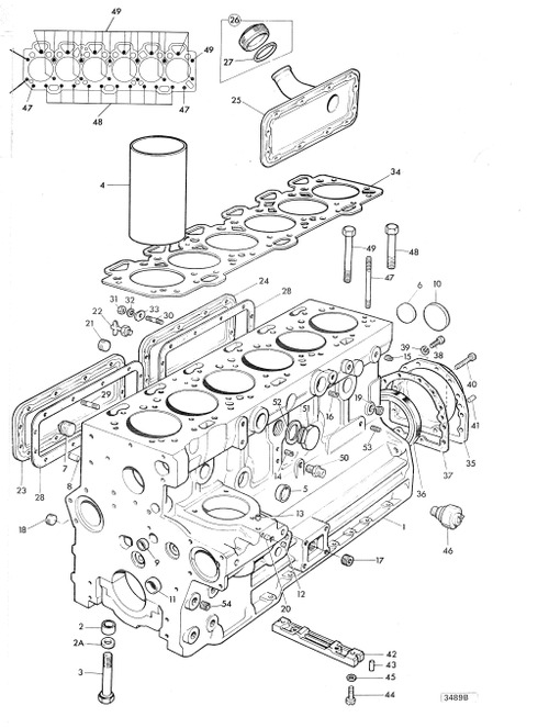 Perkins Engine T6.354 Series Parts Catalogue Manual