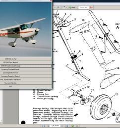 cessna 150 aerobat service parts owners manual 1974 [ 1276 x 934 Pixel ]