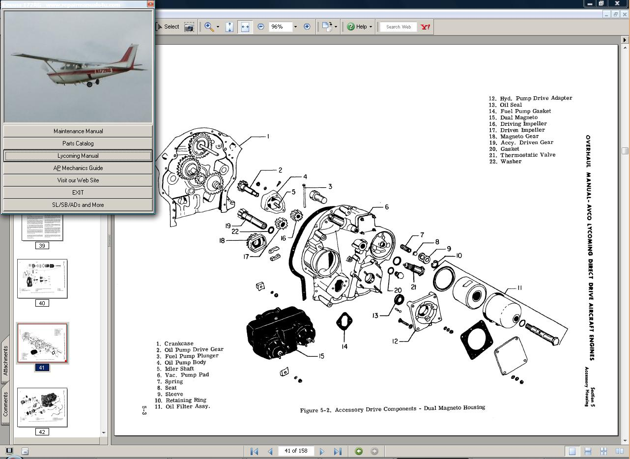 hight resolution of cessna 172rg manual set engine 80 85 172 rg