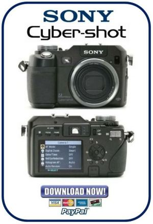 Sony Cybershot DSCV3 Service Manual & Repair Guides Pack