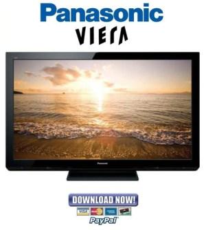 Panasonic TCP42X3 Service Manual & Repair Guide