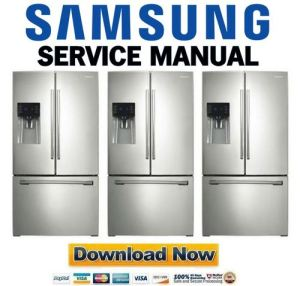 Samsung RF263TEAESR RF263TEAESG Service Manual Repair Guide  Downl