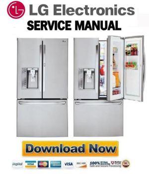 LG LFXS30766S Service Manual & Repair Guide  Download
