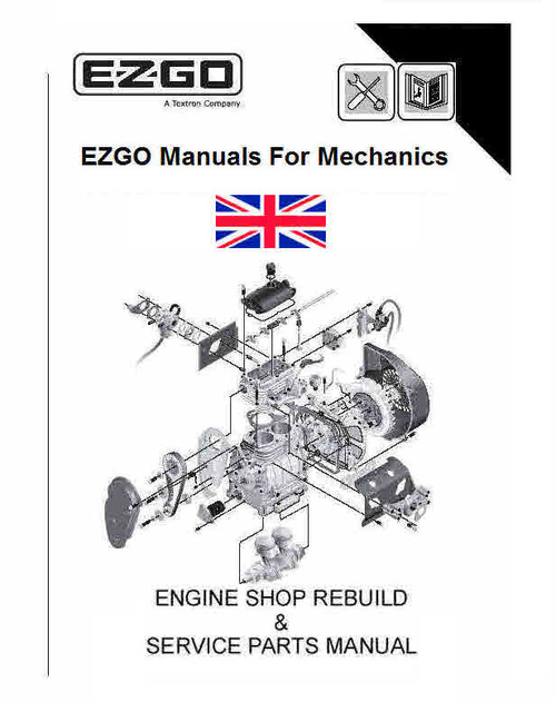 EZ-GO Golf Car and Service Manuals for Mechanics