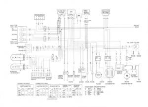 Help with 9801 250 Recon wiring  Honda ATV Forum