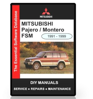 Mitsubishi Pajero  Montero Workshop Manual  Download