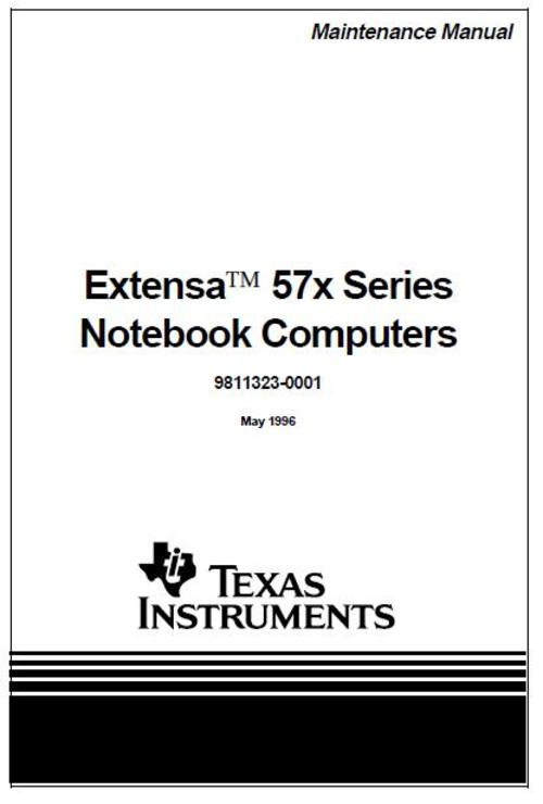 Free Acer Extensa 670 Service Manual Download