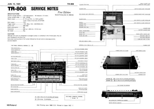 Free Roland jx-8p jx8p pg800 pg-800 complete service