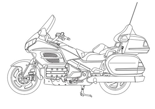 Honda GL1800 GL1800A 2002 Service Manual DOWNLOAD