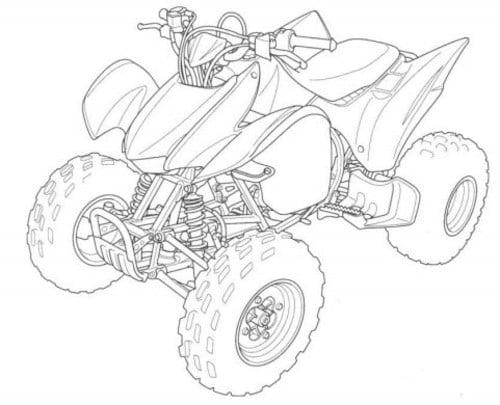 Honda TRX300EX TRX300X 2007- 2009 Service Manual