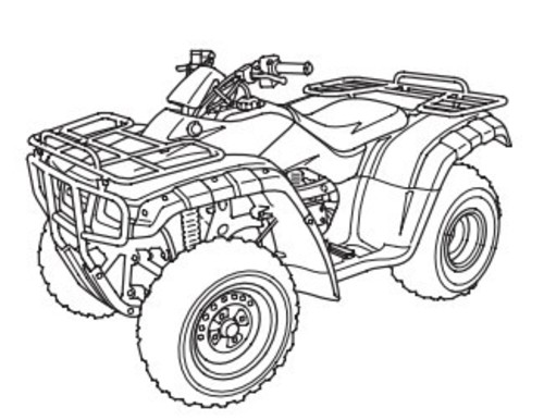 Honda TRX350TM TE FM FE 2000 2001 2002 2003 Service Manual