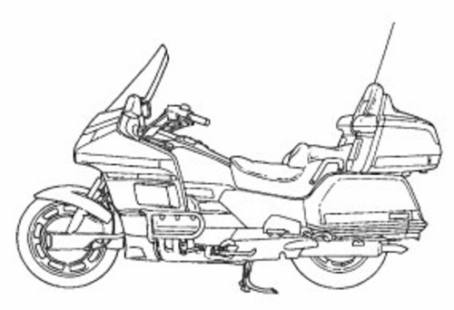Honda GL 1500 Goldwing 1994 Service Manual Download
