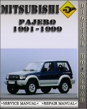 19911999 Mitsubishi Pajero Factory Service Repair Manual