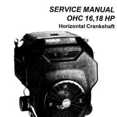 Kohler Magnum 20 Hp Wiring Diagram Nissan Patrol Alternator 18 Engine Service Manual, 18, Free Image For User Manual Download