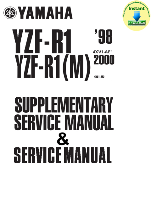 Yamaha_YZFR1_1998_Service_Manual & YZF-R1(M)_2000_Supplementary_Se...