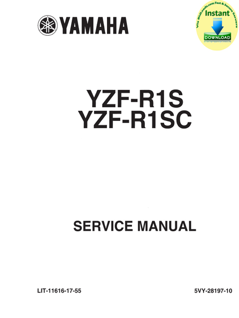 Yamaha_YZF-R1S(SC)_2004_Service_Repair & Supplementary