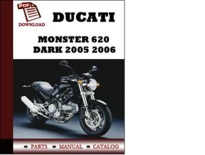 Ducati Monster 620 parts manual (catalogue) DARK 2005 2006