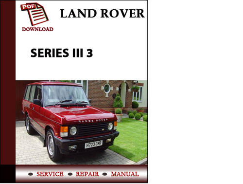 1990 Range Rover Classic Wiring Diagrams