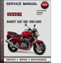 Suzuki Bandit GSF 600 1995-2005 Factory Service Repair ...