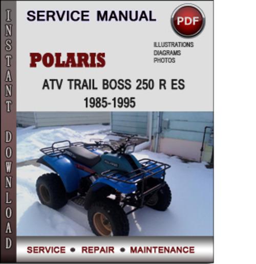Polaris Trail Boss Wiring Schematic Free Download Wiring Diagram
