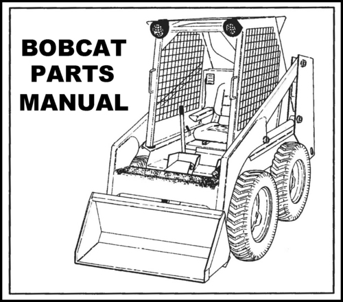 Free coloring pages of bobcat machine