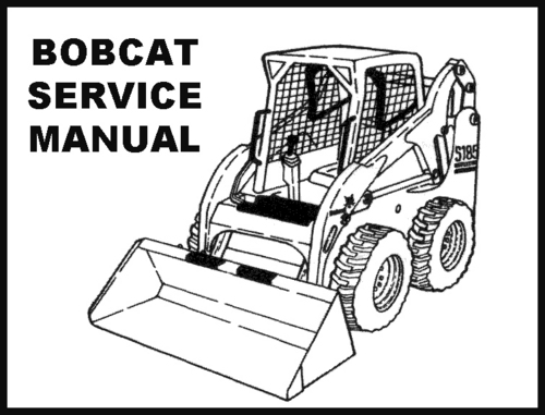 Free coloring pages of bobcat skid steer