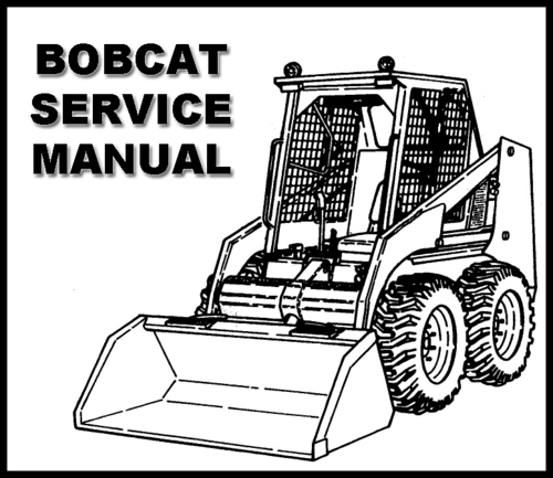 Bobcat 751 Skid Steer Loader Service Repair Workshop
