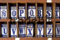 Ceramic tiles with letters - Download Pictures / Graphics